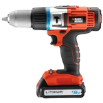 Black & Decker Slagborrmaskin HP 18V Li-Ion